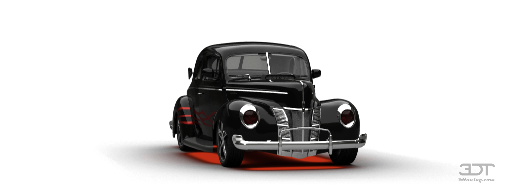 Ford De Luxe Coupe'40