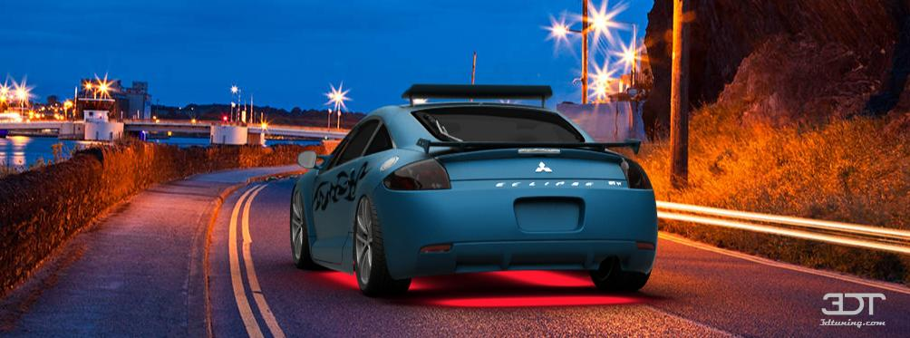 3dtuning Of Mitsubishi Eclipse Coupe 2006 3dtuning Com